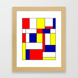 Mondrian #34 Framed Art Print