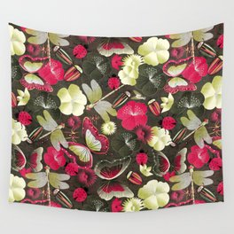 butterflies... dragonflies... and ladybugs! Wall Tapestry