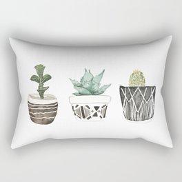 Aztec Succulents Rectangular Pillow