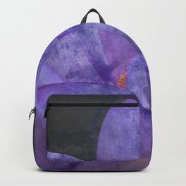 Watercolor Lotus Backpack