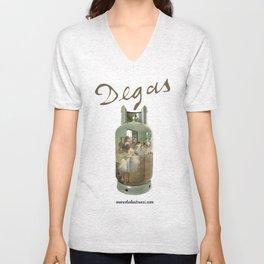 Edgar Degas Unisex V-Neck