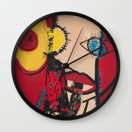 blablabla Wall Clock