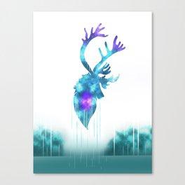 Raindeer Games Canvas Print