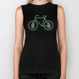 Pacific Northwest Cycling - Bike, Bicycle, Portland, PDX, Seattle, Washington, Oregon, Portlandia Biker Tank