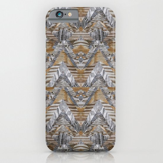 Wood Quilt 2 iPhone & iPod Case