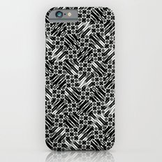 Black and White Design Slim Case iPhone 6s