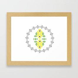 Domino I Framed Art Print