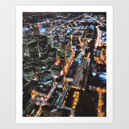 Throwback TO CN Tower Views 2006 (8x10 or 4:3 ratio) Art Print