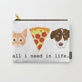 The Pizza Pets Carry-All Pouch