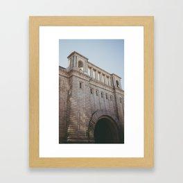 Brooklyn Building Framed Art Print