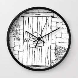 Introvert day Wall Clock