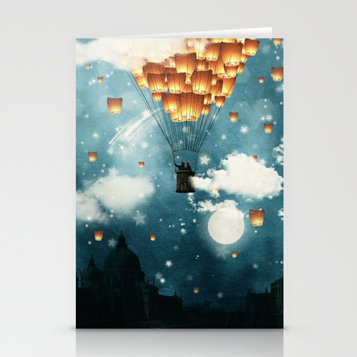 Where all the wishes come true Stationery Cards