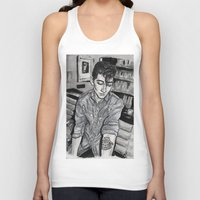 alex turner Tank Tops featuring Alex Turner tattoo by vooce & kat