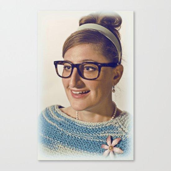 i.am.nerd. :: lauren r. Canvas Print