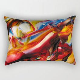 whirled piece Rectangular Pillow