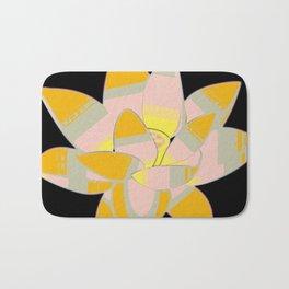 Water Lilly Pop Art Bath Mat