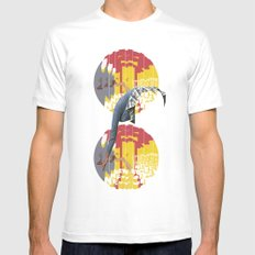Strippers, Shirts & Shoes  MEDIUM White Mens Fitted Tee