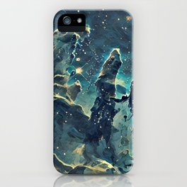 ALTERED Pillars of Creation iPhone Case