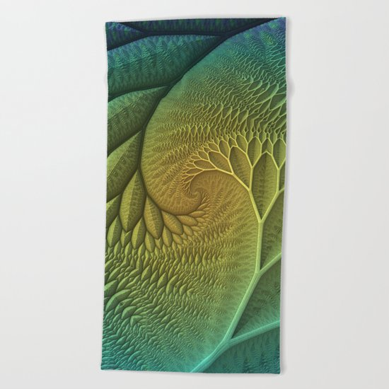 Innie and Outie Beach Towel