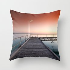 Summers Night Throw Pillow