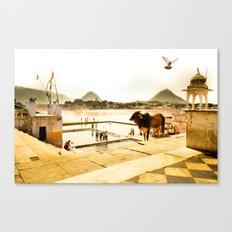 Pushkar Morning Canvas Print