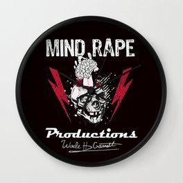 Mind-Rape Productions Wall Clock