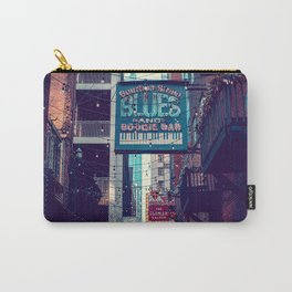 Historic Printer's Alley Nashville Tennessee Carry-All Pouch