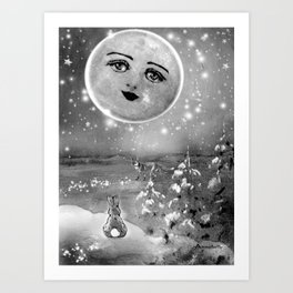 DINNER DATE -  DATE NIGHT ON VALENTINE'S DAY|LOVE| GALAXIES|PAST HISTORY|UNIVERSE| Art Print