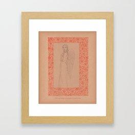 Finding Refuge : Better Angels Series Framed Art Print