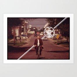 Ride! Art Print