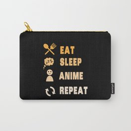Eat Sleep Anime Repeat Carry-All Pouch