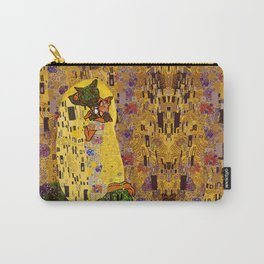 Kiss Klimt Cats Carry-All Pouch
