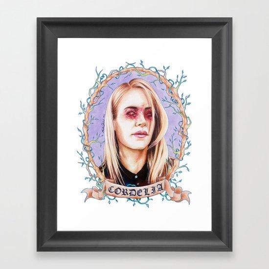 pluck Framed Art Print