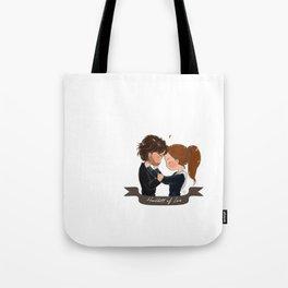 Headbutt of love Tote Bag