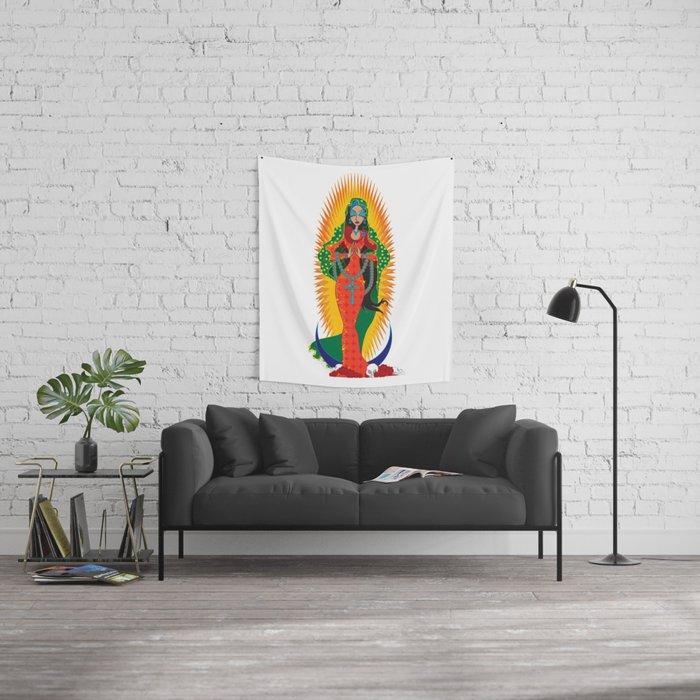 La Virgen de Guadalupe Wall Tapestry