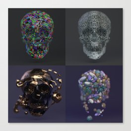 Skull Collection 02 Canvas Print