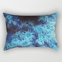 Anemone in the Deep Rectangular Pillow