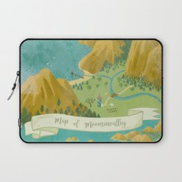 Moominvalley Map Interpretation (1/3) Laptop Sleeve