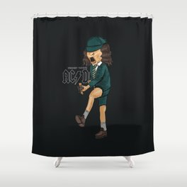 Angus Shower Curtain
