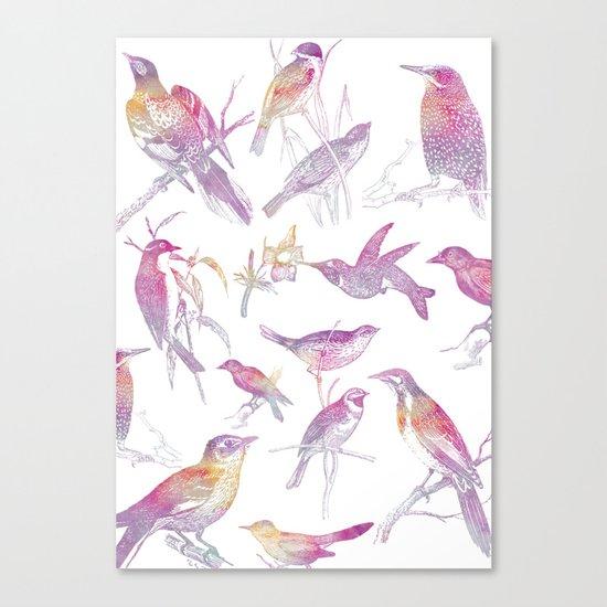 If you're a bird, I'm a bird. Canvas Print