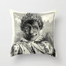 Emperator Throw Pillow