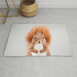 Squirrel 2 - Colorful Rug