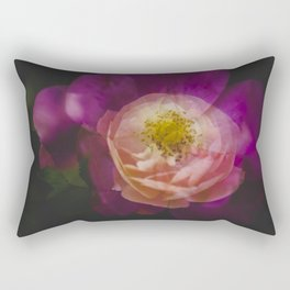 Roses (double exposure version) Rectangular Pillow
