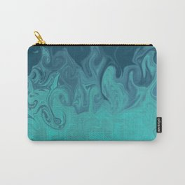 Swirly Sea Shore Carry-All Pouch