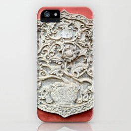 Temple Wall Art iPhone Case