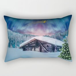 Christmas night #society6 #decor #buyart Rectangular Pillow