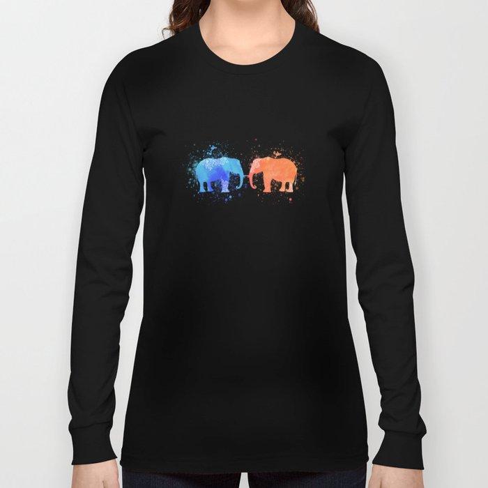 love elephants Long Sleeve T-shirt
