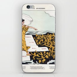 The Awakening By Hy Mayer 1915 Women's Suffrage iPhone Skin