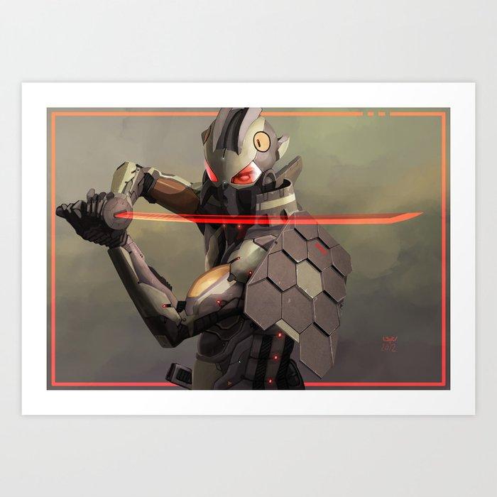 Cymurai 09 Art Print