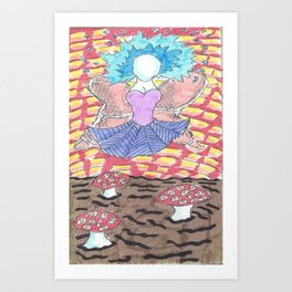 Crispy Angel Art Print